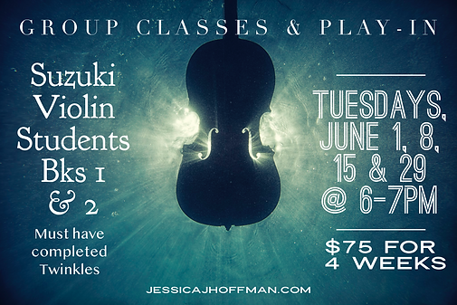 Summer Violin Group Classes & Play-In.pn