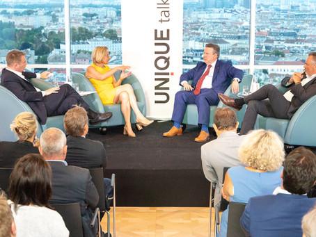 UNIQUE talk: Economic motor Vienna, Lower Austria, Burgenland