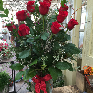 Valentines arrangement 1