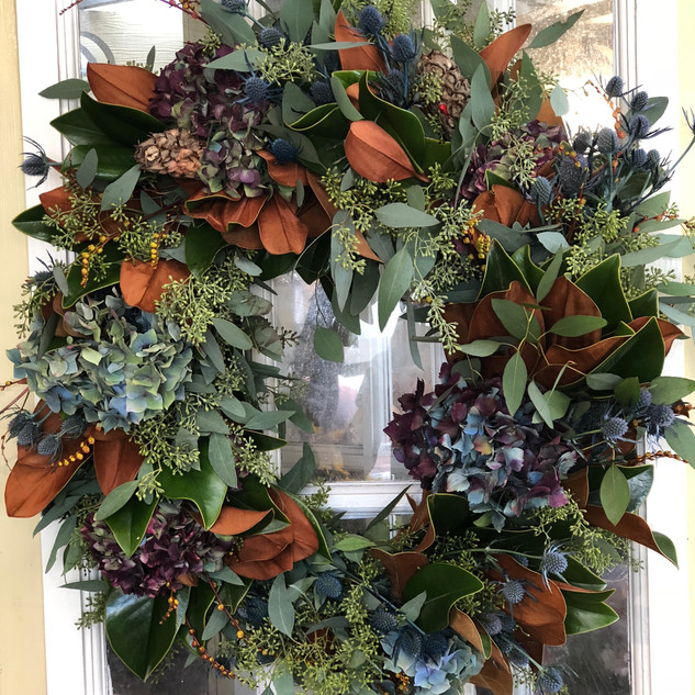 Thanks giving wreath