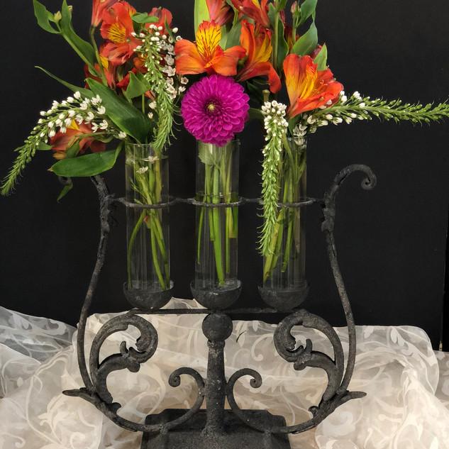 3 Bud Vase Display