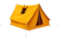 yellow-tourist-tent-travel-camping-94111