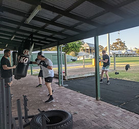Boxing and fitness class North Fremantle