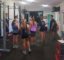 Youth fitness group classes north fremantle gym
