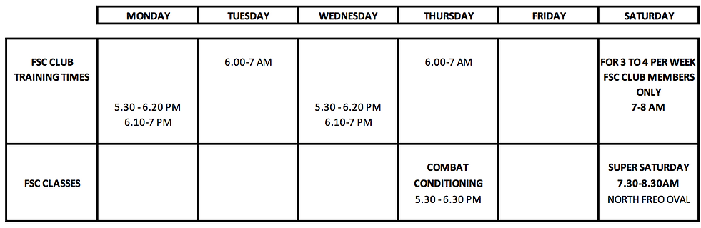North Freo FSC Timetable May 2020.png