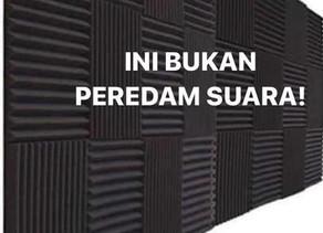 BUSA TELUR bukan PEREDAM SUARA