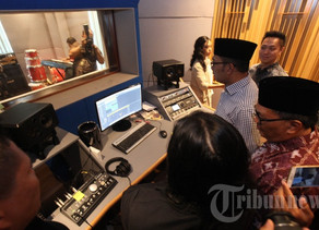 Studio Rekaman kelas dunia di Bandung Creative Hub