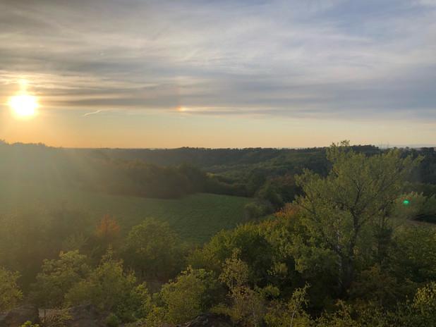 Minice západ slunce Rusavky
