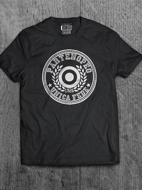 T-Shirt Partenopeo Grafica Argento