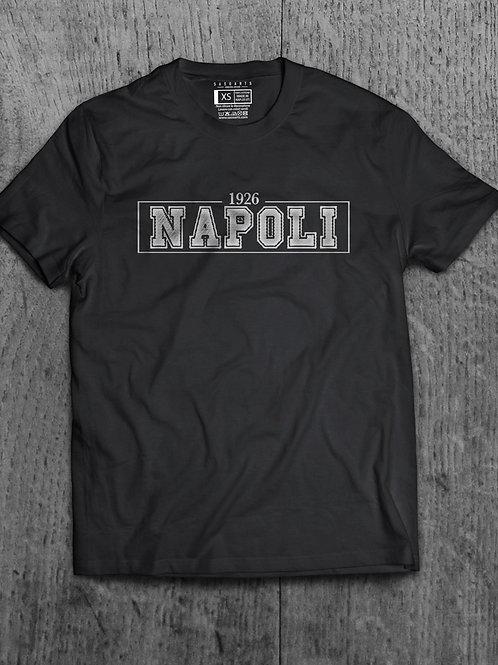 T-Shirt Napoli 1926 Grafica Argento