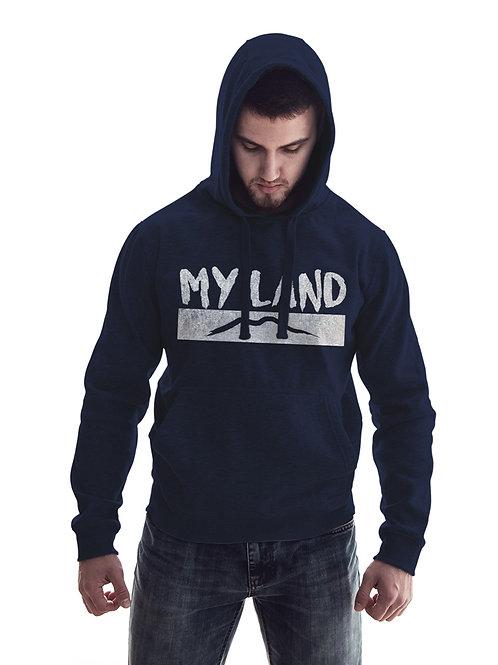 Felpa Blu My Land