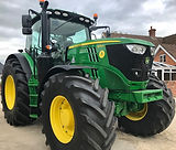 Young persons tractor driving for websit