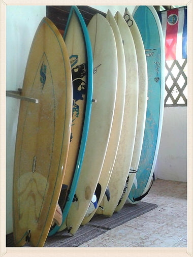 pavones, rooms surf rentals