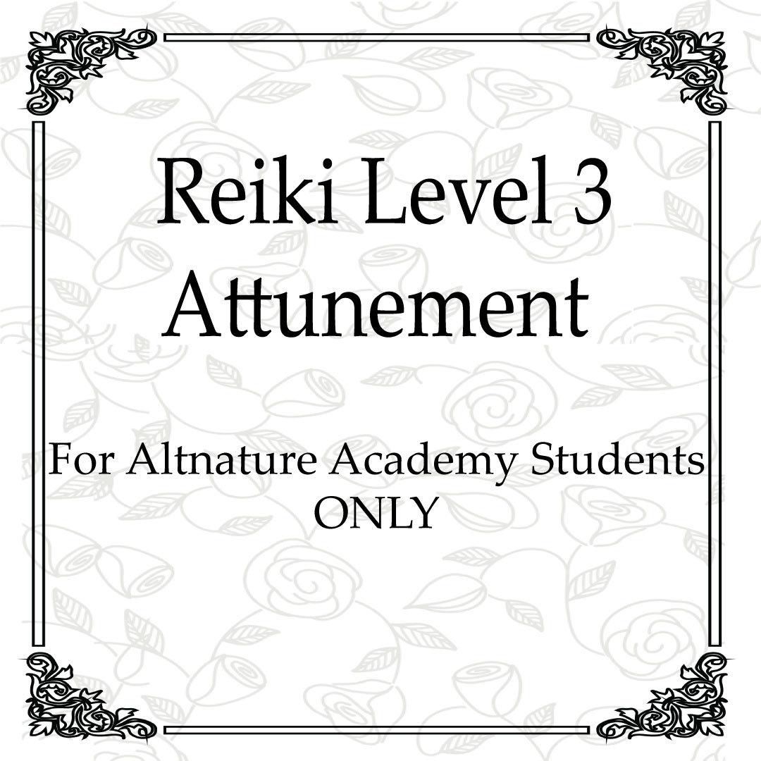 Reiki Level 3 Master Level Attunement