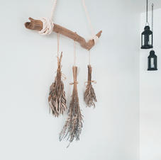 Handmade natural decor