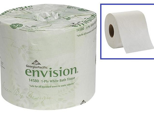 Envision 1-Ply Bathroom Tissue