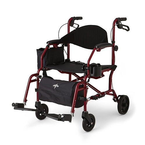 Combination Rollator / Transport Chair