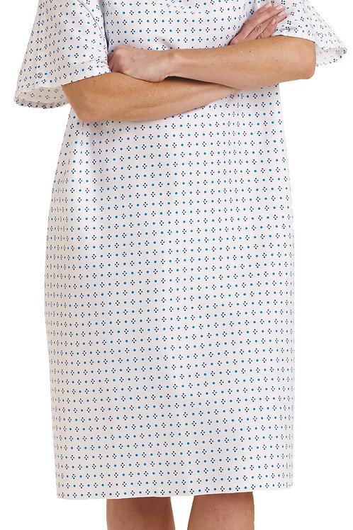 Overlap Back Closure IV Patient Gown