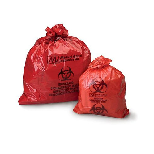 Biohazardous Waste Bags by Medical Action
