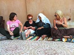 עם הנשים הבדואיות