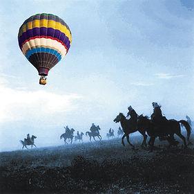 איקון סוסים וכדור פורח