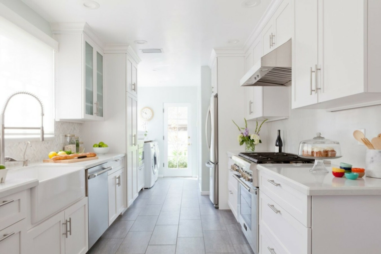Cocinas alargadas – las últimas tendencias e ideas de decoración ...
