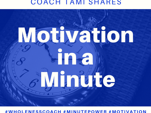 Motivation in a Minute: Check Your Motive