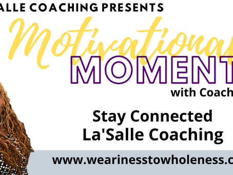 Motivational Moments with Coach Tami