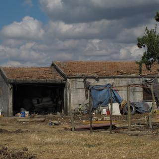 Una casa di braccianti a Boreano (Basilicata)