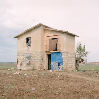 Casa abbandonata lungo la strada Mulini Matinelle (Basilicata)