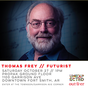 Thomas Frey Unexpected Fort Smith