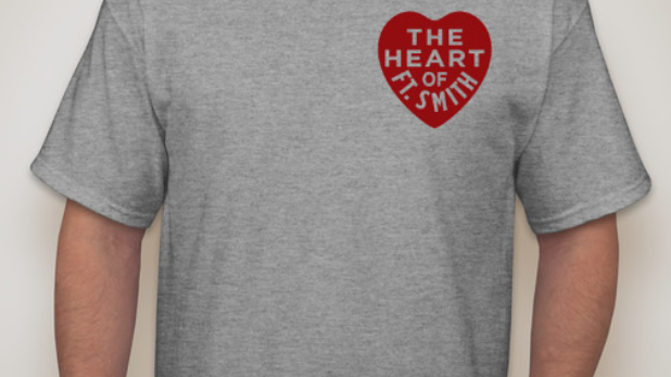 Grey Heart of Fort Smith Tee