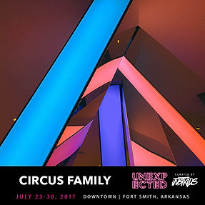 Circus Family Unexpected Fort Smith