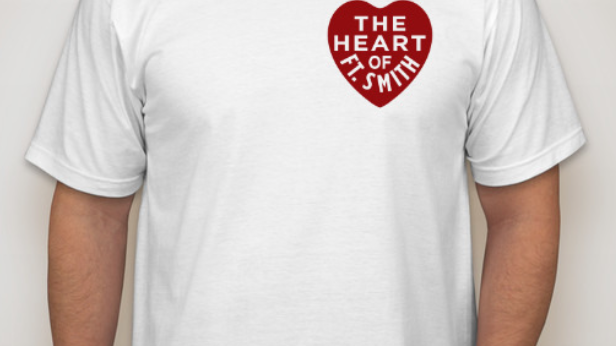 White Heart of Fort Smith Tee