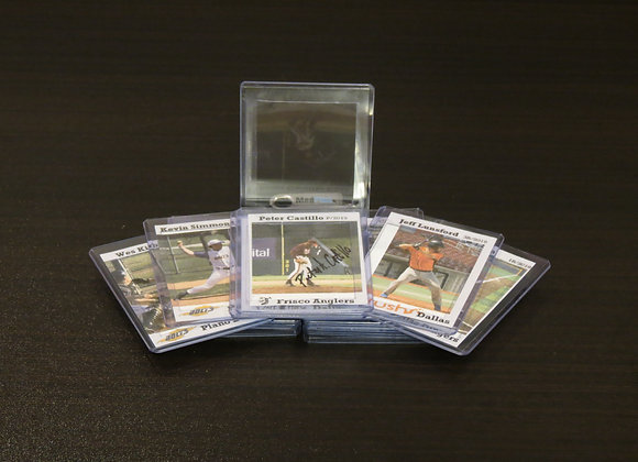 20-pack Signature Baseball Card Holders