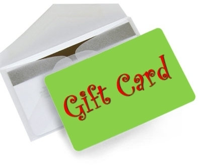 Ten Dollar (10.00) Gift Certificate