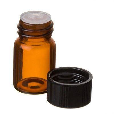 30 Count 5/8 Dram Sample Bottle W/ Reducer Orifice