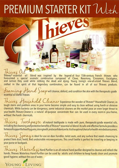 Young Living THIEVES PSK  Flier