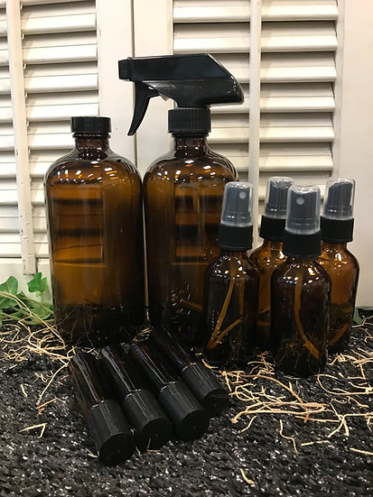 Amber Glass - Essential Oils Start Up Set