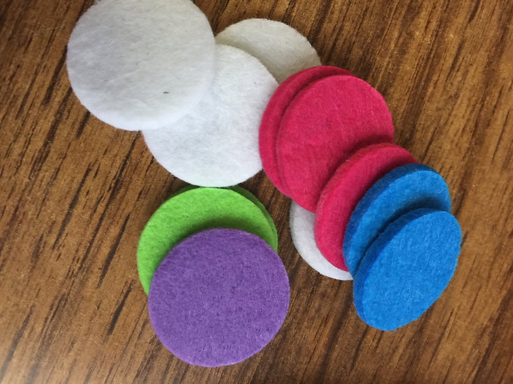 25mm  Round REFILL PADS ONLY (1)