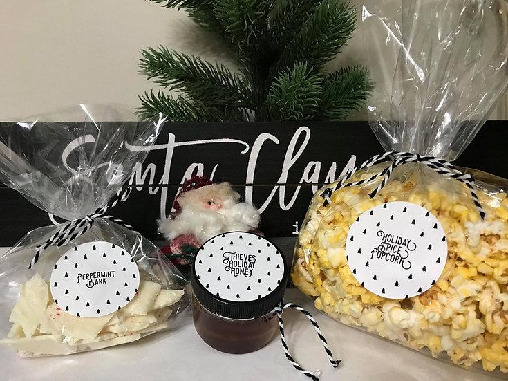 Holiday Snacks Gift Set ~ Christmas ~ Make n Take Kit For 6 or 12