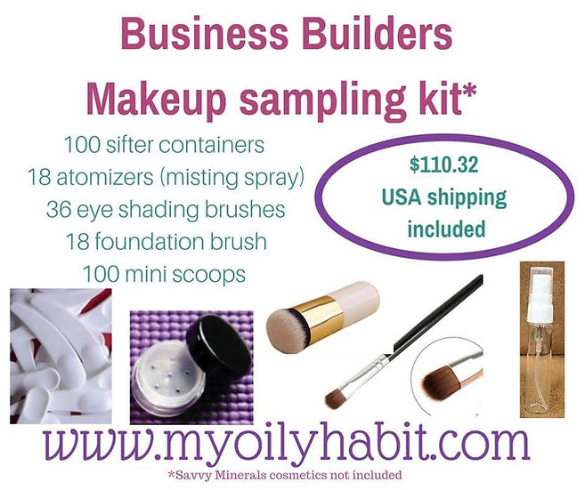 Business Builders Mineral Makeup Supply Kit