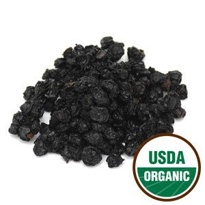 Certified Organic Dried ELDER BERRY  ~ BERRIES ~ 1 pound package