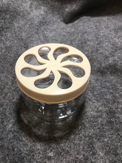 50 count 4 oz PET jar Diffuser ~ Solid lid ~ Sifter Top - Daisy - Air Freshner