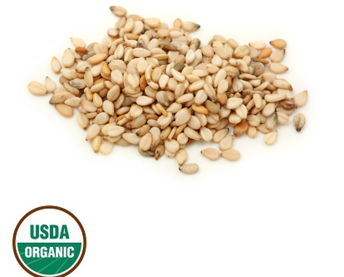 Sesame Seed Oil ~ Virgin Organic ~8 oz ~ Sourced from USA  ~