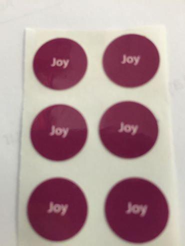 6 Joy Labels