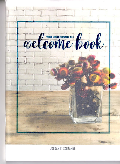 LARGE - Young Living WELCOME Book - Jordan Schrandt