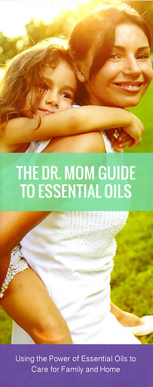 The DR MOM Guide to Essential Oils Trifold Brochure