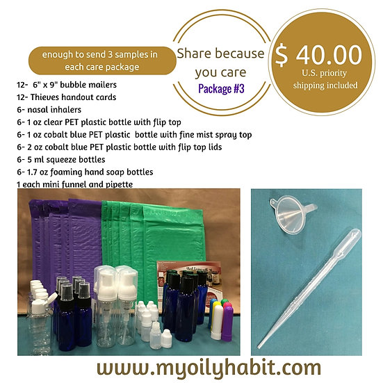 Share Kit #3 -  Shipping Included --