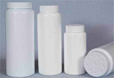 4 oz Body Powder container - Quantity 50 (bulk)